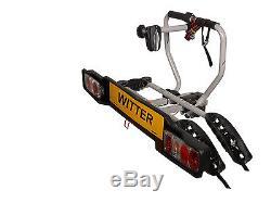WITTER 2 Bike Towbar mounted Cycle carrier- BIKE TILT Feature BOLT ON