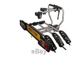 WITTER 3 Bike Towbar mounted Cycle carrier- BIKE TILT Feature BOLT ON