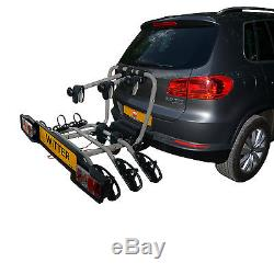 WITTER 3 Bike Towbar mounted Cycle carrier- BIKE TILT Feature GENUINE
