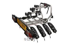 WITTER 4 Bike Towbar mounted Cycle carrier- BIKE TILT Feature BOLT ON