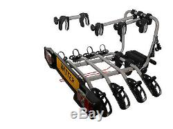 WITTER 4 Bike Towbar mounted Cycle carrier- BIKE TILT Feature GENUINE