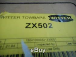Witter Zx502 Towball Mounted Tilting 2 Bike Cycle Carrier