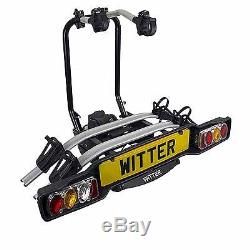 Witter Zx502 Towball Mounted Tilting 2 Bike Cycle Carrier New For 2015