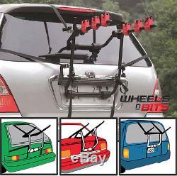 WNB 3 Bicycle Bike Car Cycle Carrier Rack Hatchback Rear Mount Mounted Universal