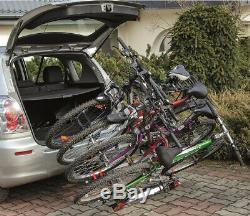 WNB 4 Bike Platform Cycle Carrier 60KG Load Carrier Bikes Tow Bar Hitch Mounted