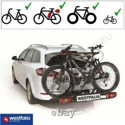 Westfalia BC60 AHK Fahrradträger für 2 Räder eBikes Anhängerkupplung klappbar