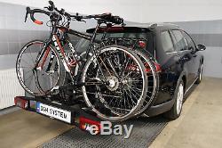Westfalia BC60 Fahrradträger für 3 Fahrrader Anhängerkupplung mit Erweiterung