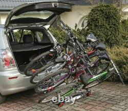 Winter SALE! Titan 4 Bike Rack / Cycle Carrier Towbar Mounted Tilting 7pin plug