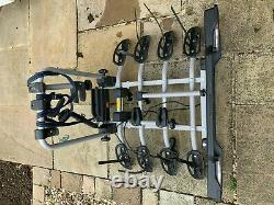 Witter Clamp-On Tow bar Mounted 4 bike Cycle Carrier rack
