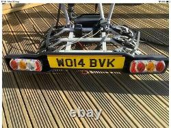 Witter Towbar Zx310 Clamp On 3 Bike 60kg Mounted Cycle Carrier Bike Rack