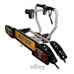 Witter ZX202 Cycle Carrier Bolt-On Towball Mounted 2 Bike Cycle Carrier