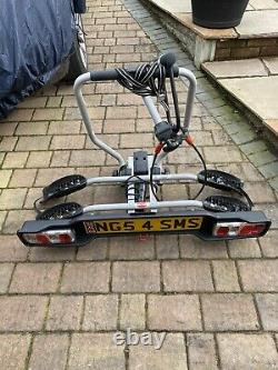 Witter ZX202 Towball Mounted 2 Bike Cycle Carrier