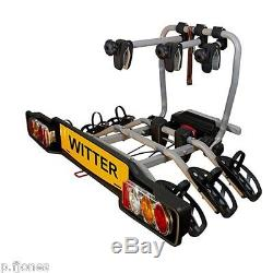 Witter ZX310 Tow Bar Mounted 3 / Three Bike Cycle Carrier