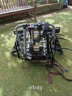 Witter ZX412 4 bike tow bar cycle carrier Excellent condition