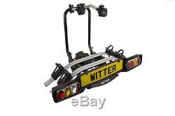 Witter ZX502 Tow Bar Mounted 2 / Two Bike Cycle Carrier