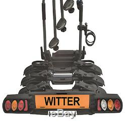 Witter ZX703 Tow Bar Mounted 3 / Three Bike Cycle Carrier Pure Instinct