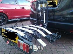 Witter zx504 four bike cycle carrier rack